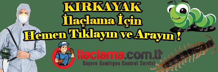 kırkayak, kırkayak-ilaclama, kırkayak-özellikleri